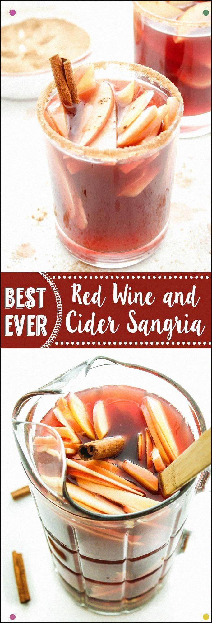 Red Wine Apple Cider Sangria This Sangria Recipe Is A Fall And Holiday Favorite Full Bodied Pinot Noir And Apple Cider Are Mixed Together And Poured Over Sliced Apples And Pears. #applecidersangriarecipe Red Wine Apple Cider Sangria This Sangria Recipe Is A Fall And Holiday Favorite Full Bodied Pinot Noir And Apple Cider Are Mixed Together And Poured Over Sliced Apples And Pears. #applecidersangriarecipe