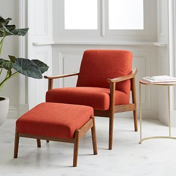 West Elm Mid Century Show Wood Chair In 2019 The Sitter