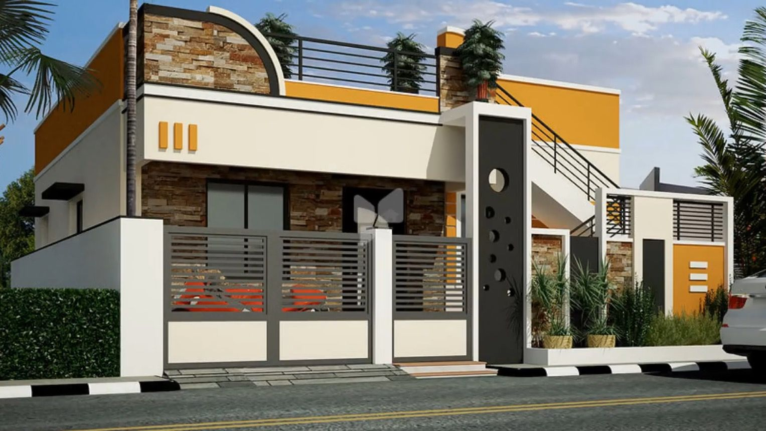 Independent House Village House Design Small House Front Design