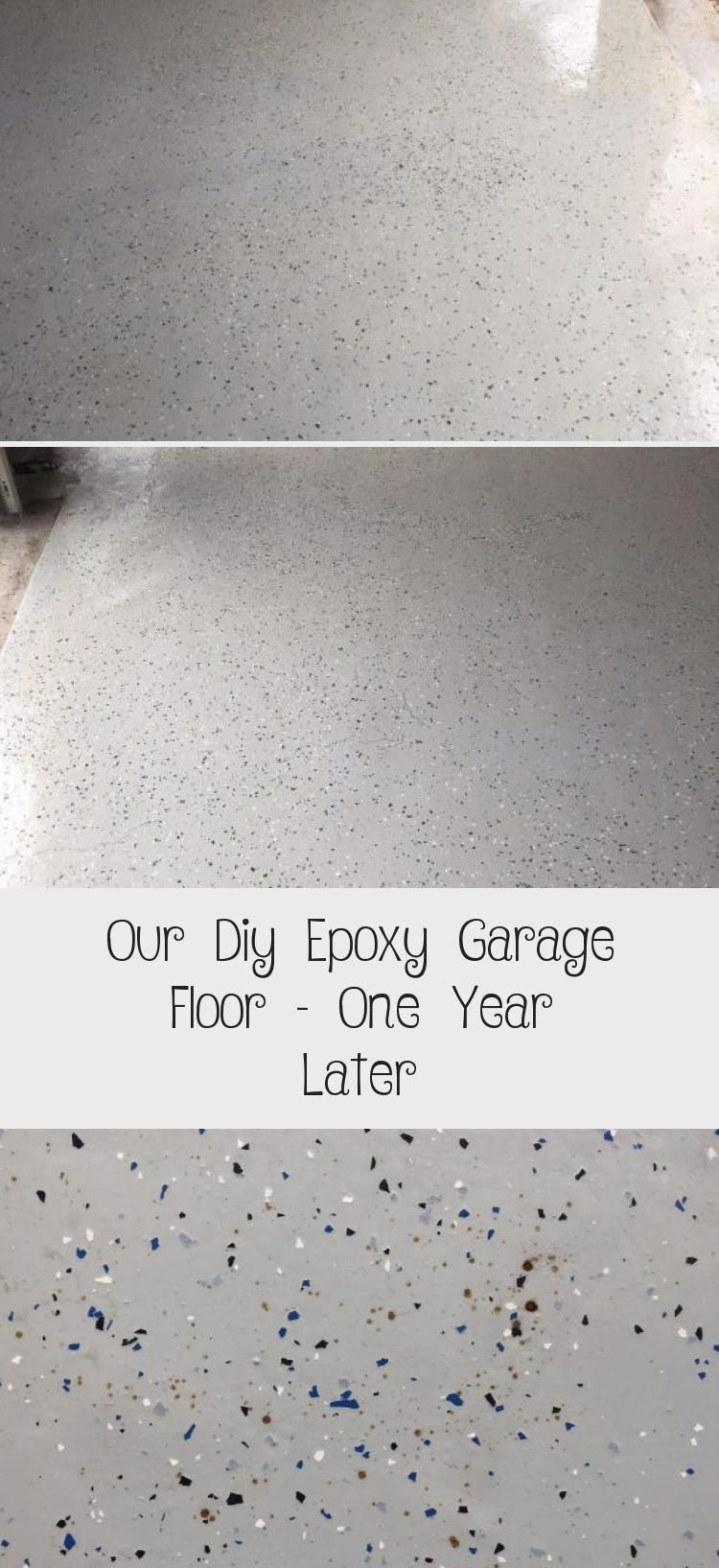 Our Diy Epoxy Garage Floor One Year Later Epoxy DIY in