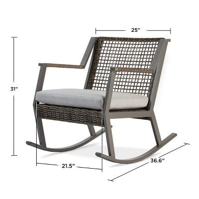 Outdoor Rocking Chairs Target Jam Dining Calvin Rocker Set Of 2 Gray Real Flame Products In 2018 Porch Audience