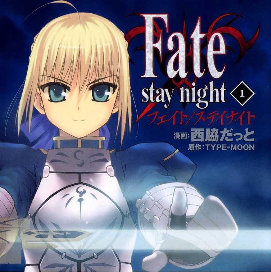 Fate / Stay Night Manga Featured A manga series