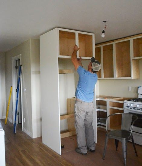 Home Build Refrigerator Surround - Google Search