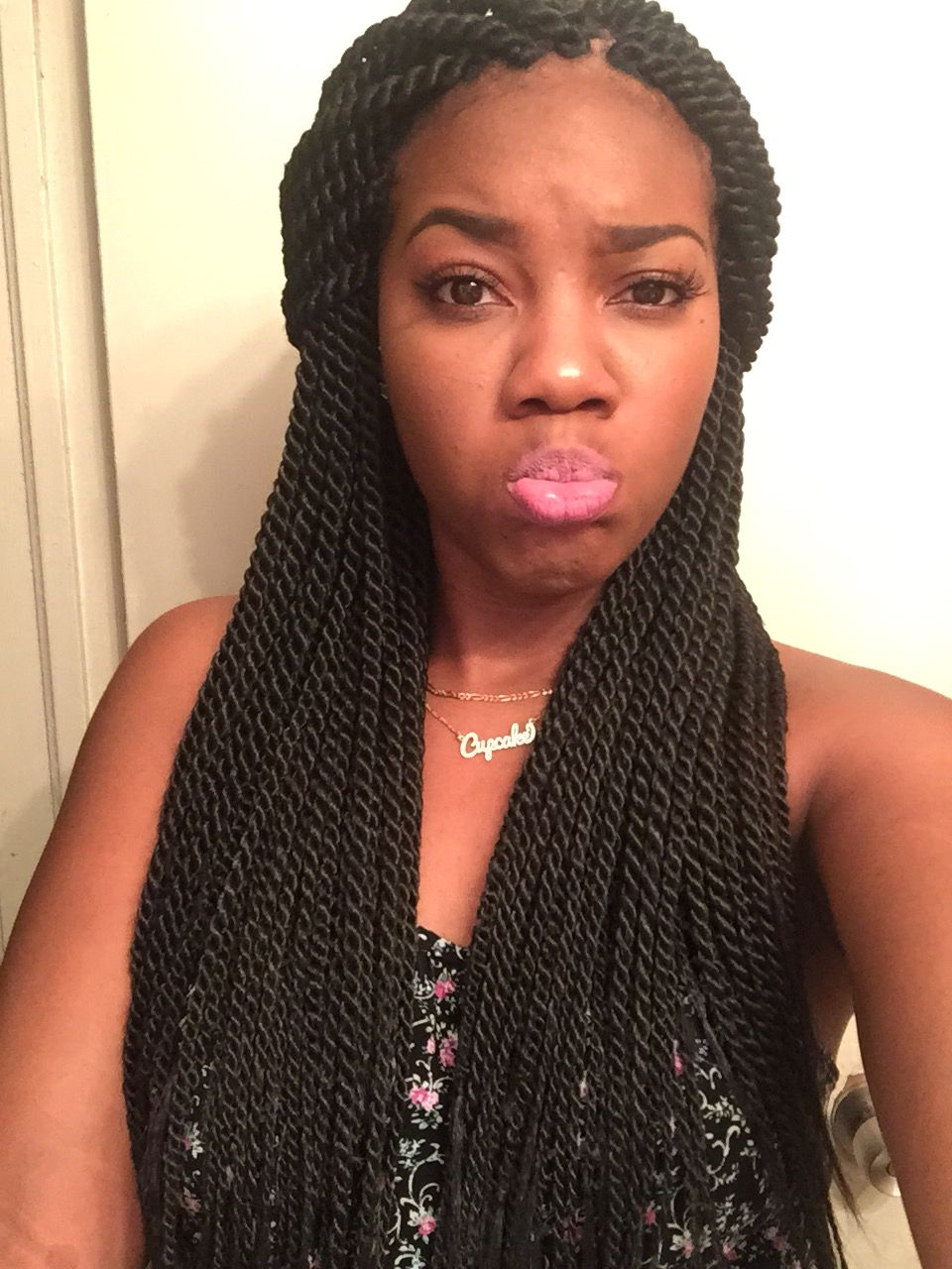 Senegalese Twist Rope Twist Hair Hair In 2019 Hair Styles
