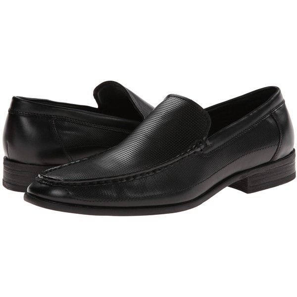 Kenneth Cole Unlisted Room 4 Rent (Black Synthetic) Men's Slip-on.