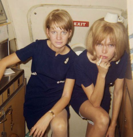The Air Hostess With The Mostest Awesome Images Of Vintage