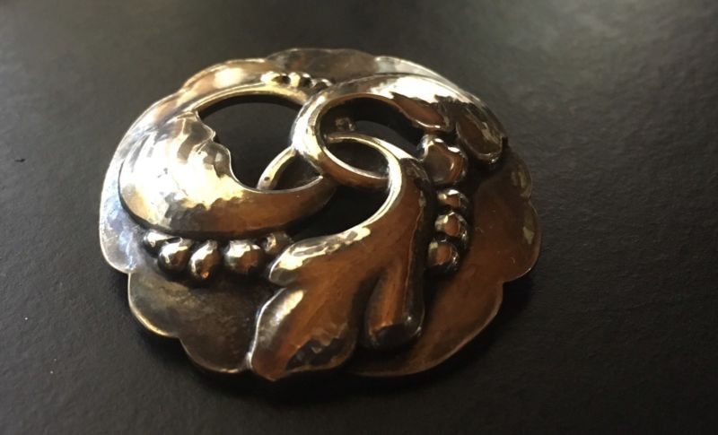Georg Jensen Denmark Sterling Silver Pin Brooch 20 Danish Designer Gi 1910 25 Georg Jensen Silver Vintage Georg Jensen Jewelry Design