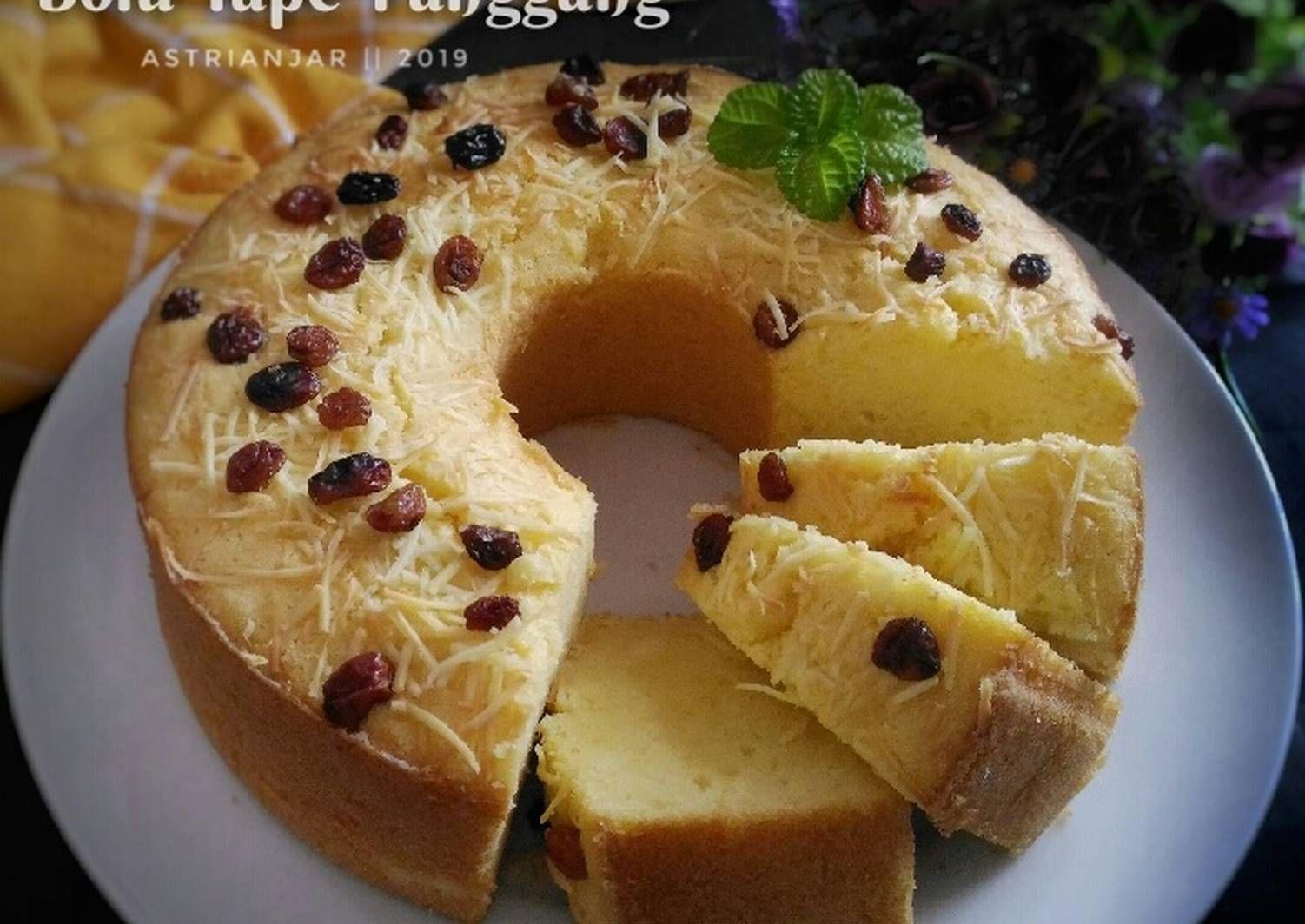 Resep Bolu Tape Panggang Oleh Astri Anjar Resep Resep Kue Panggang