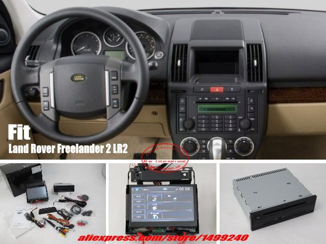 For Land Rover Freelander 2 Lr2 Car Stereo Dvd Player Gps Navi