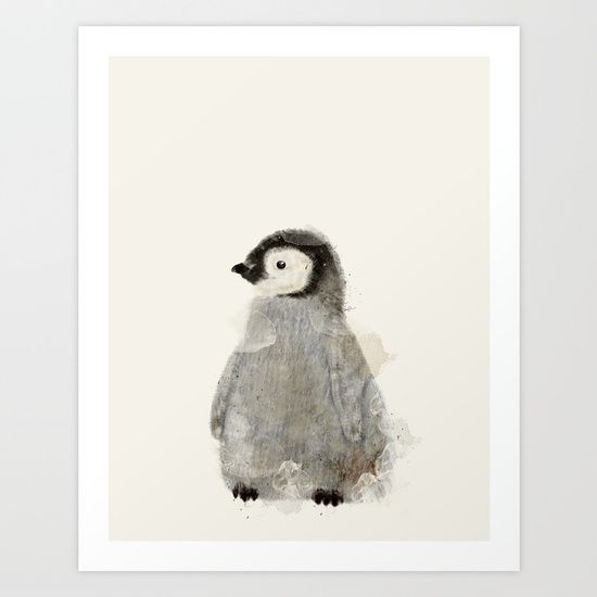 colorful little baby penguin for nursery or home decor<br/> <br/> penguins,baby penguins,colorful,birds...