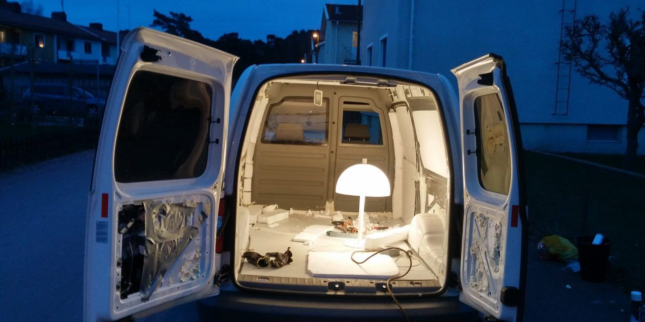 How To Build A Camper Van / Mobile Home In 20 Days ! *With