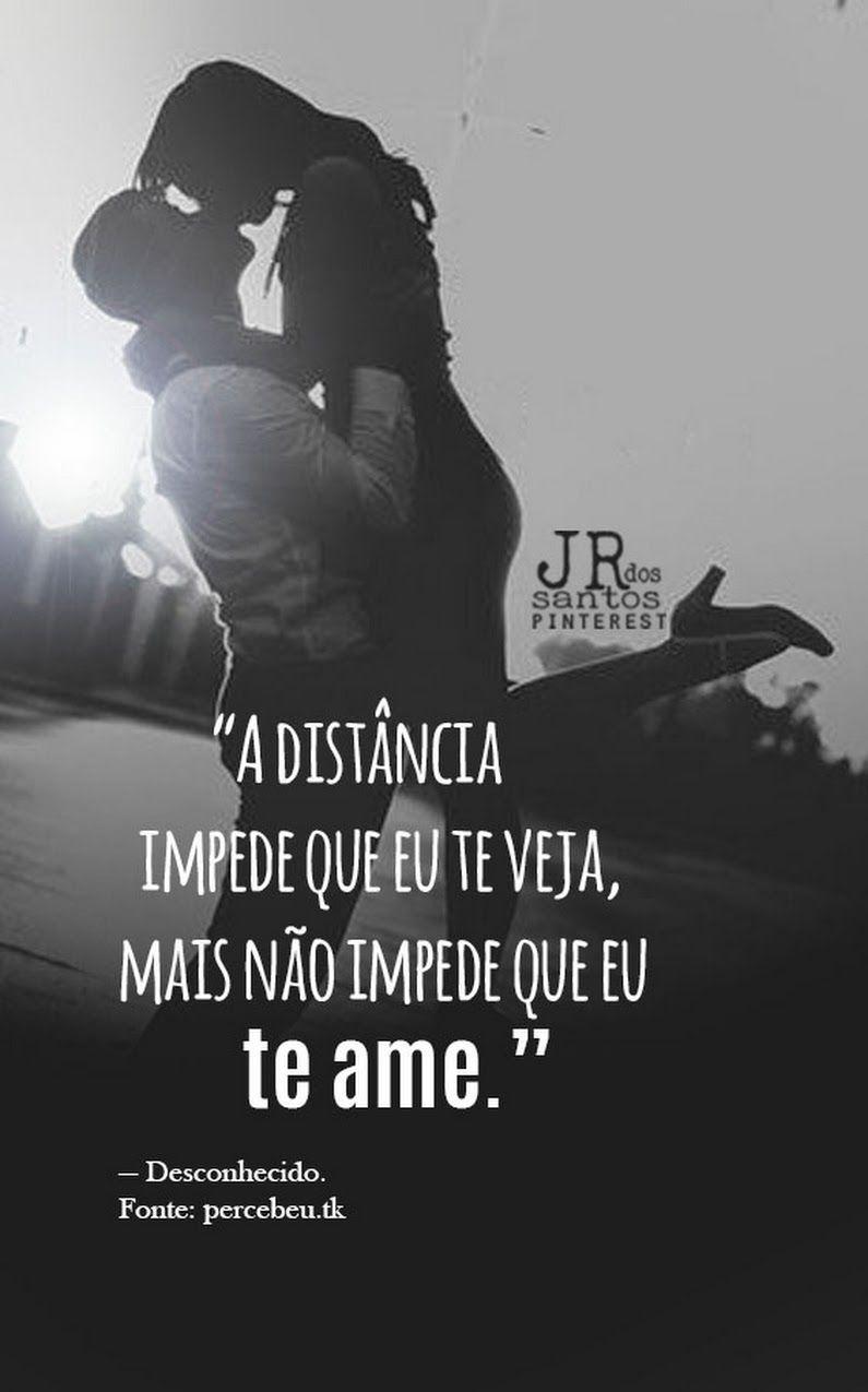 A distância nunca será um empecilho para o amor