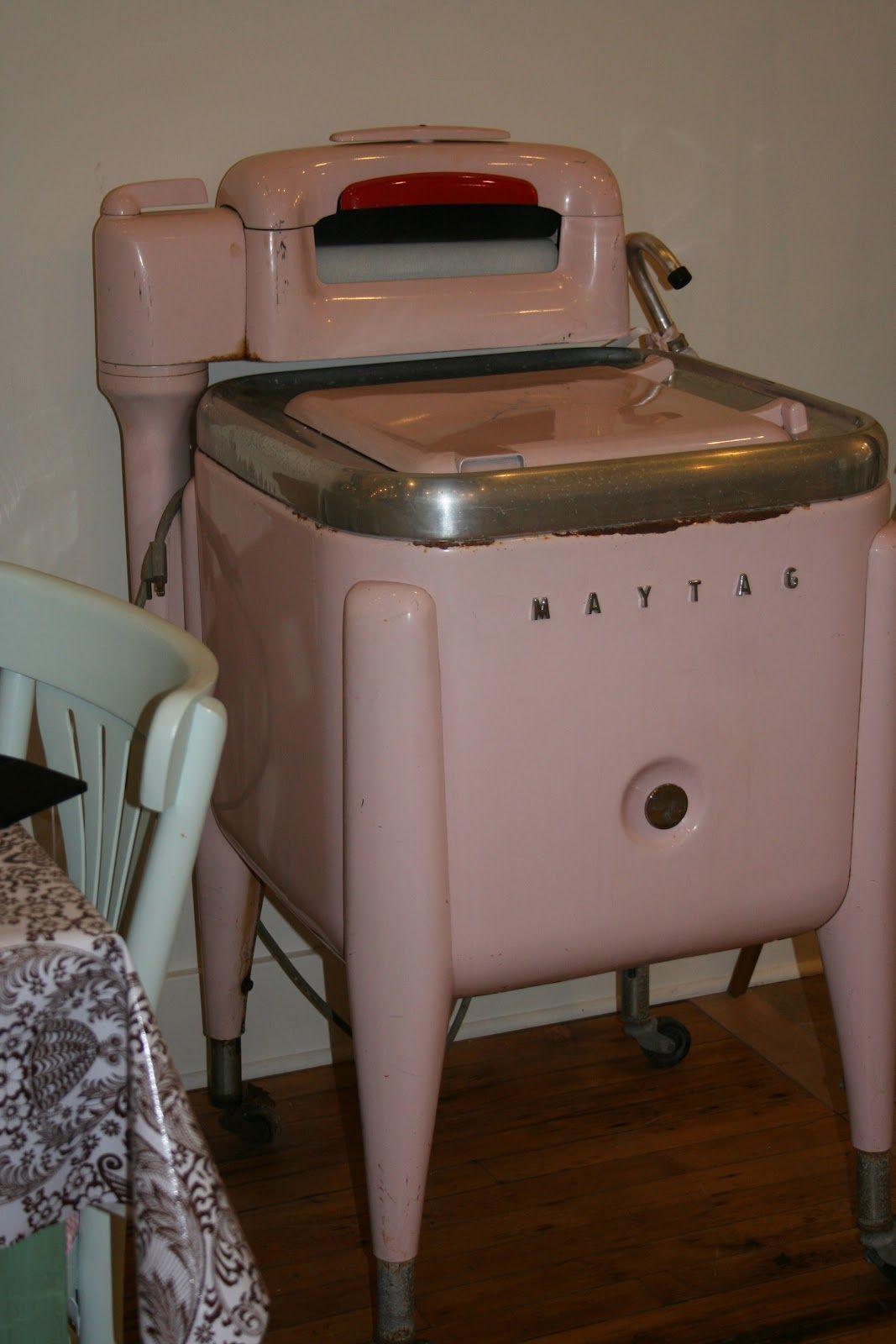 Sewn With Grace Vintage Washing Machine Vintage Laundry Vintage Appliances