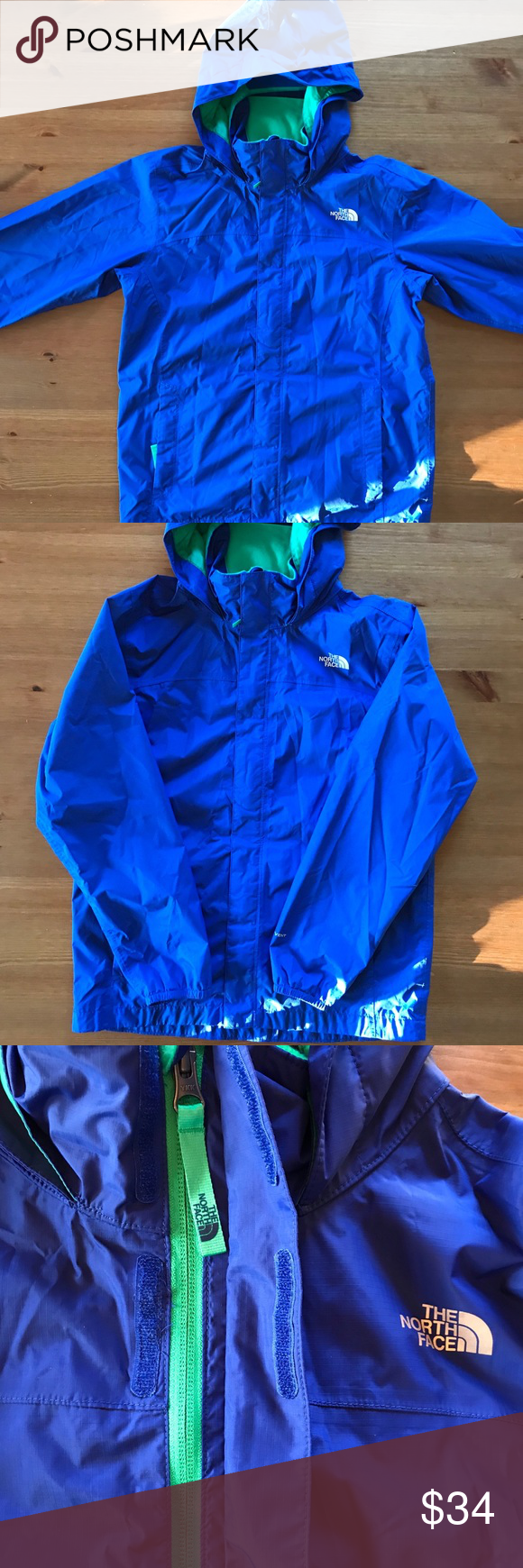 494bb91efb The North Face Windbreaker Dryvent light jacket Windbreaker rain jacket in  great clean condition Colors Blue