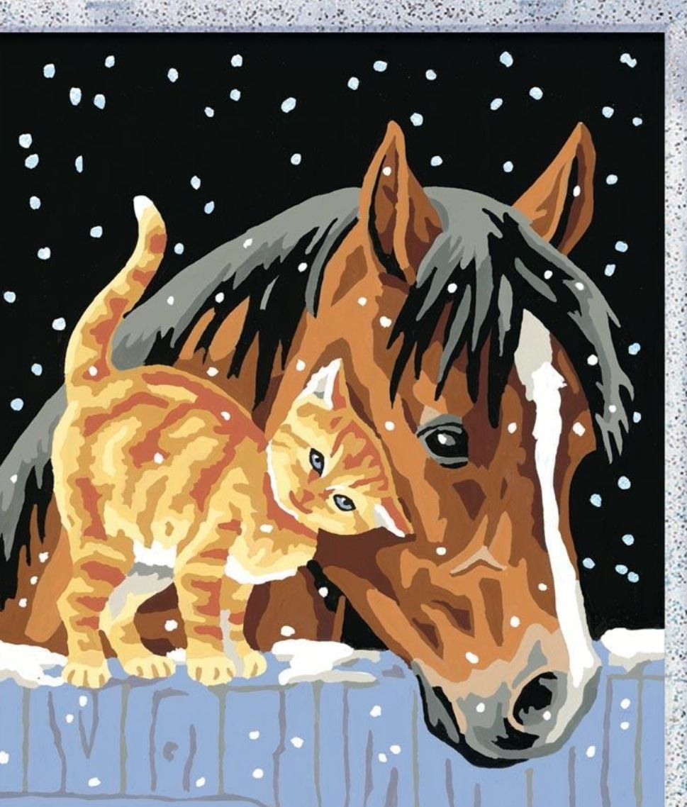 Easy horse painting (With images) Horse painting
