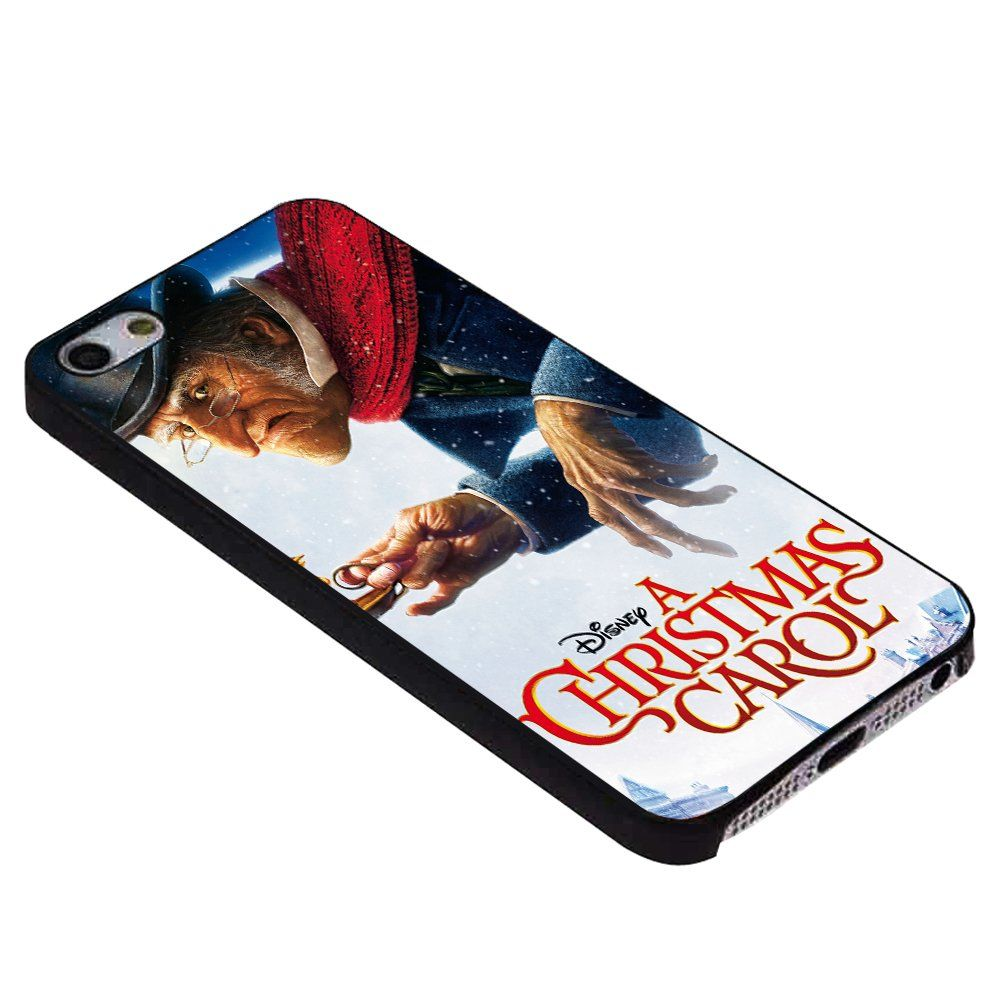 Disney Christmas Carol for Iphone Case iPhone s black  Awesome