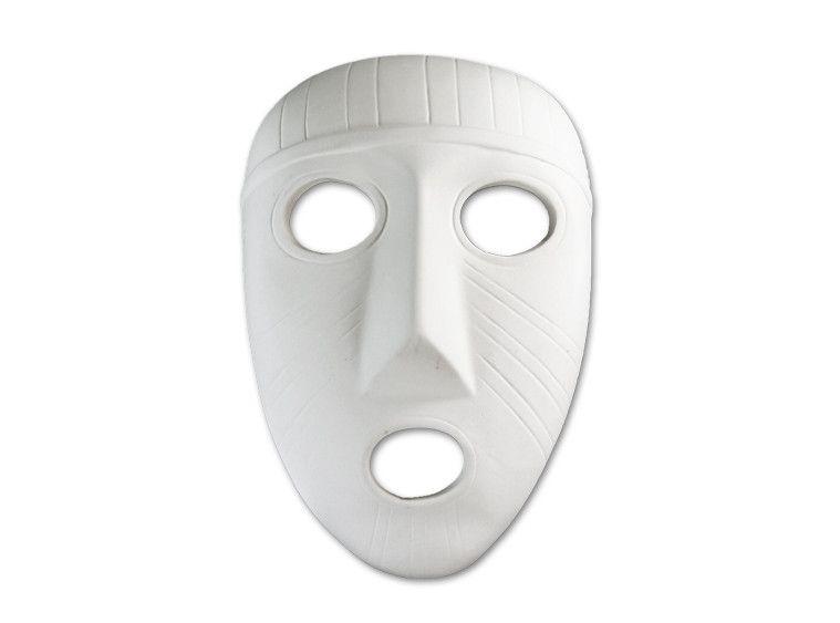 Paint-a-Potamus Paint Your Own Ceramic Mask Unfinished Low-Fire Ceramic Bisque