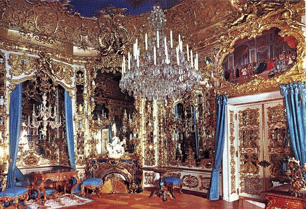 Hall Of Mirrors Linderhof Palace Germany Castles Interior Castle Rooms Opulent Interiors