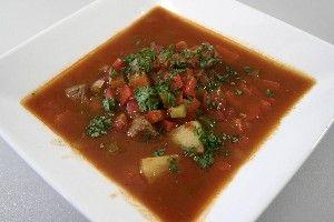 Ungarn  Gulash Suppe 4