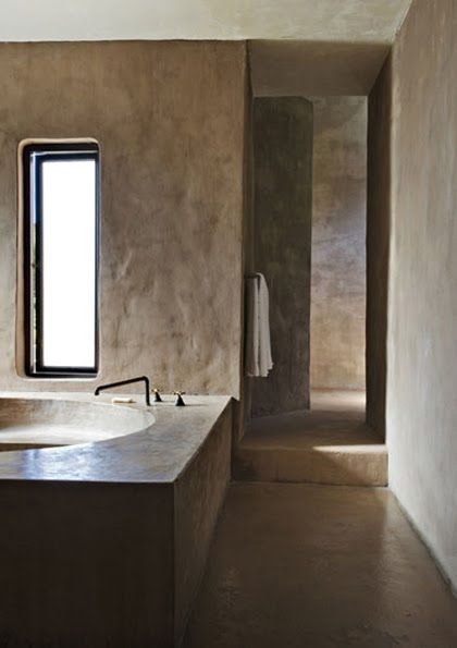 Built-in bathrooms | Pinterest | Interiors, Bath and Concrete