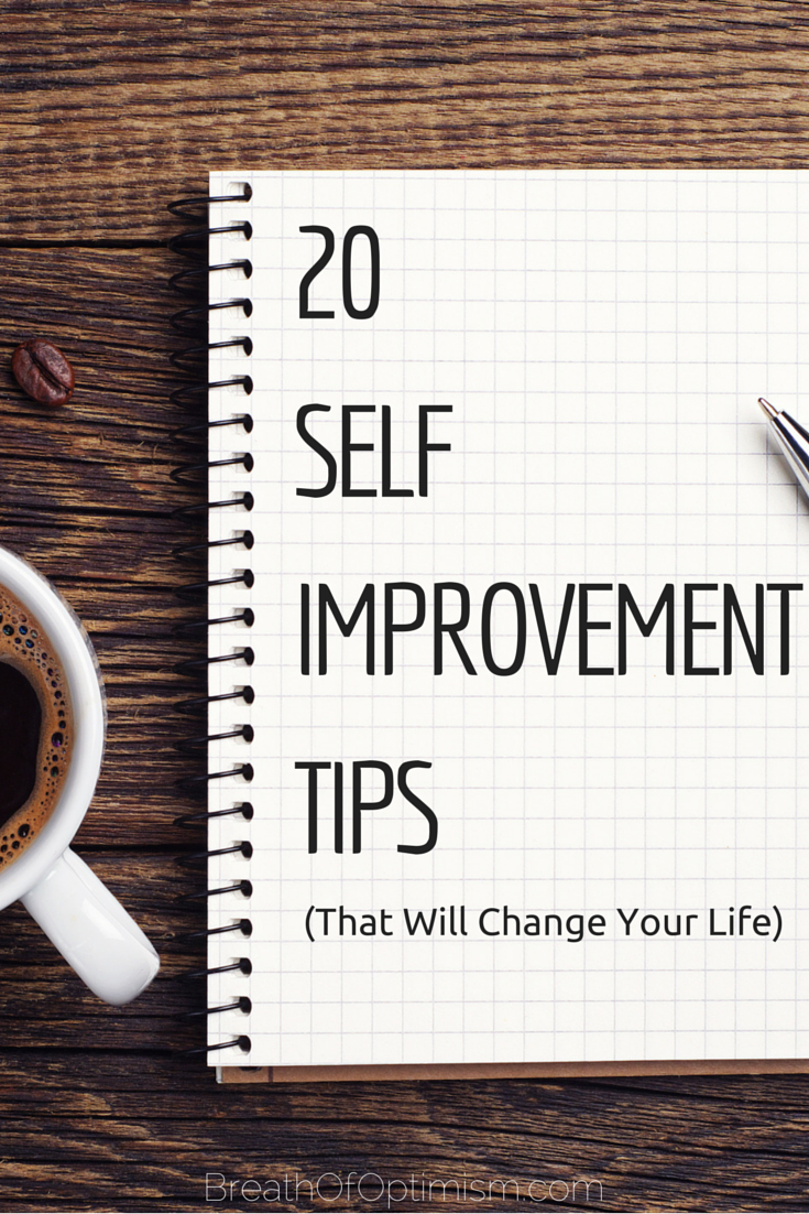 how to change yourself for the better