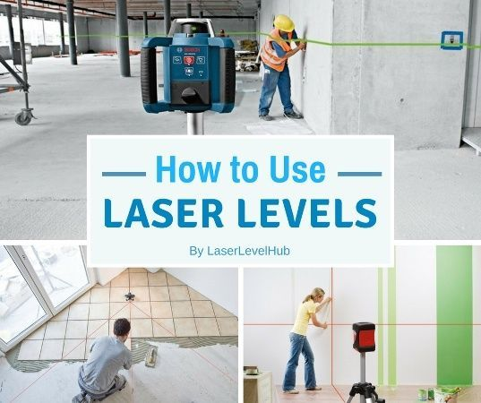 Ho To Use A Laser Level For Laying Tiles Hanging Pictures Install