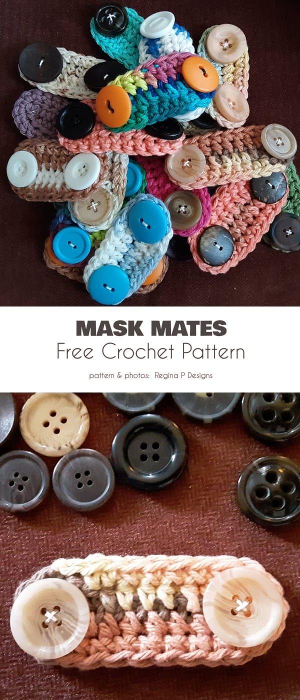 Mask Mates Free Crochet Patterns