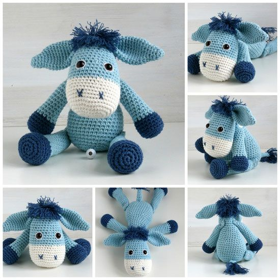 Spieluhr Esel Gehäkelt Patterns Pinterest Mobile Bébé Zebre