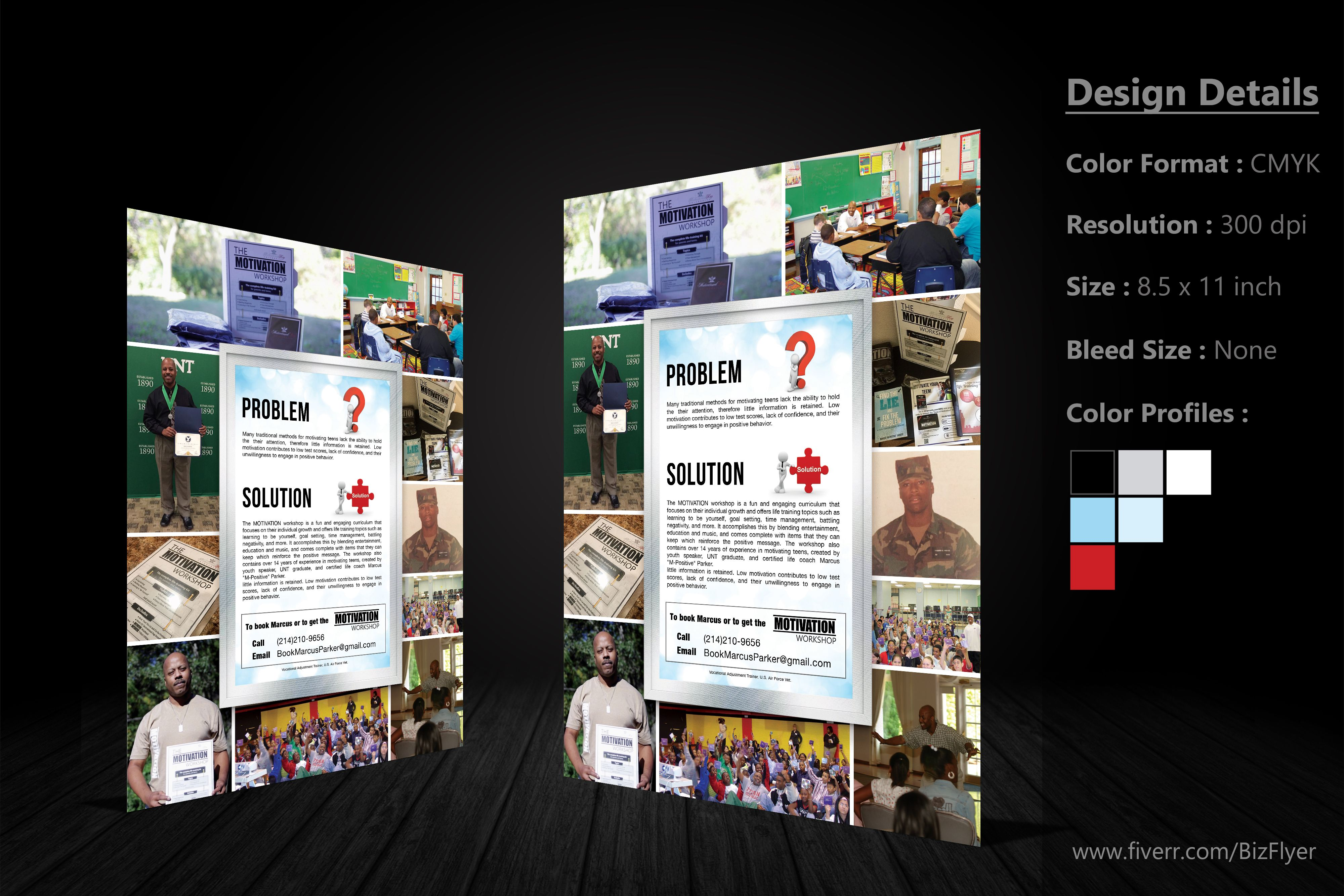 Create outstanding flyers and brochures (With images