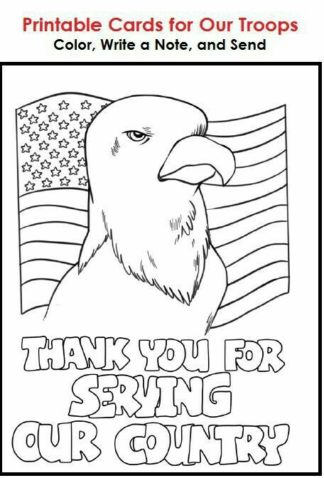 Pin By Taylor Mcdermith On Awesome Things Veterans Day Coloring Page Thank You Cards From Kids Military Cards