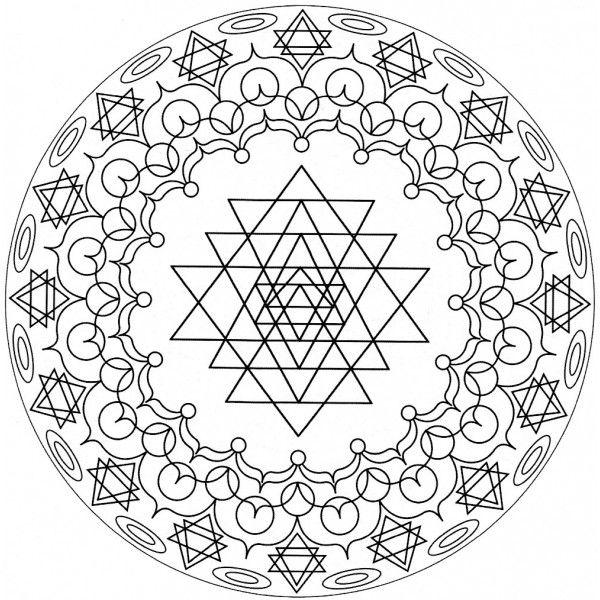 11 Mandalas para colorear ahora (3) | Ilustration | Pinterest ...