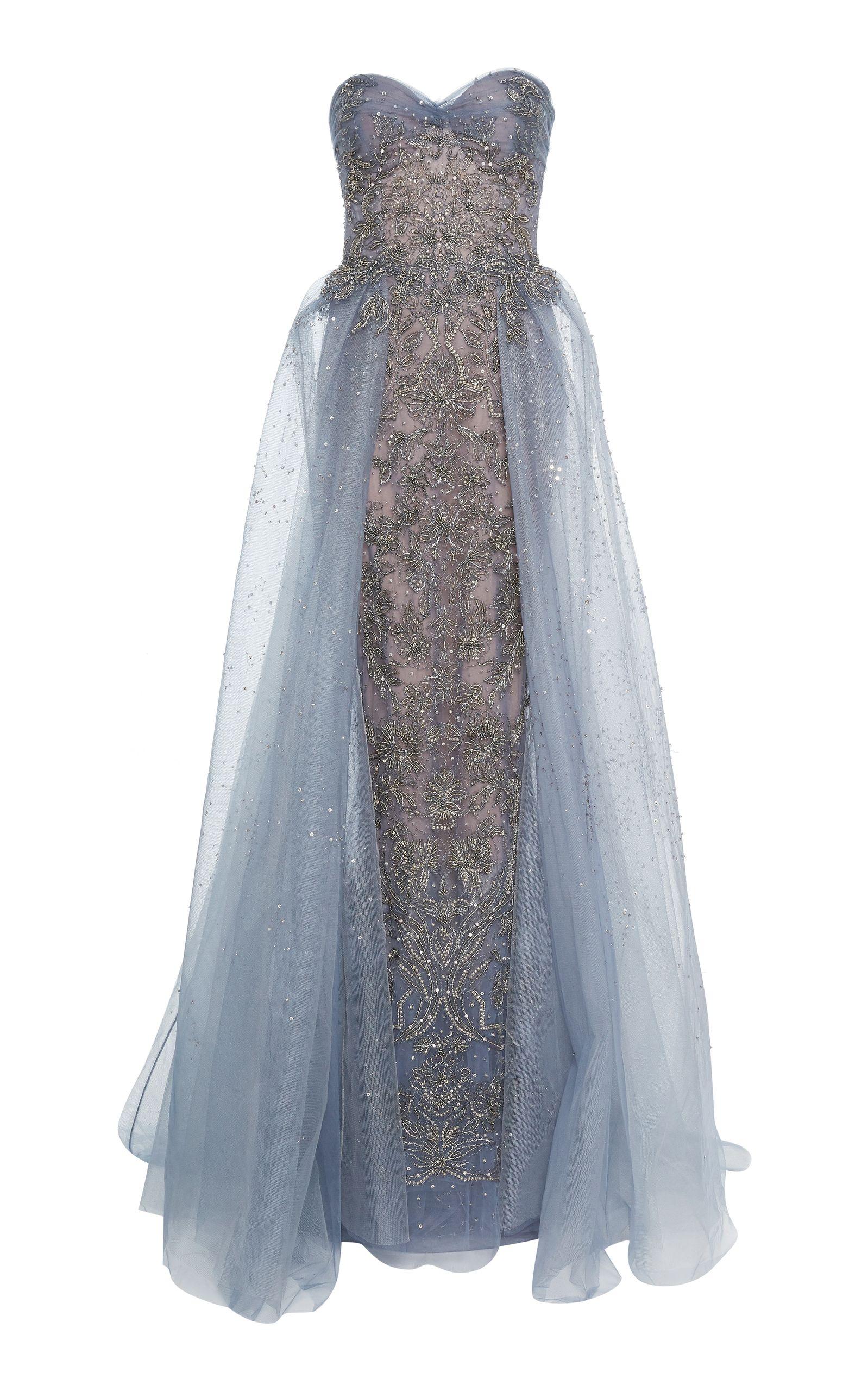 Marchesa prefall apparel designer dresses u gowns