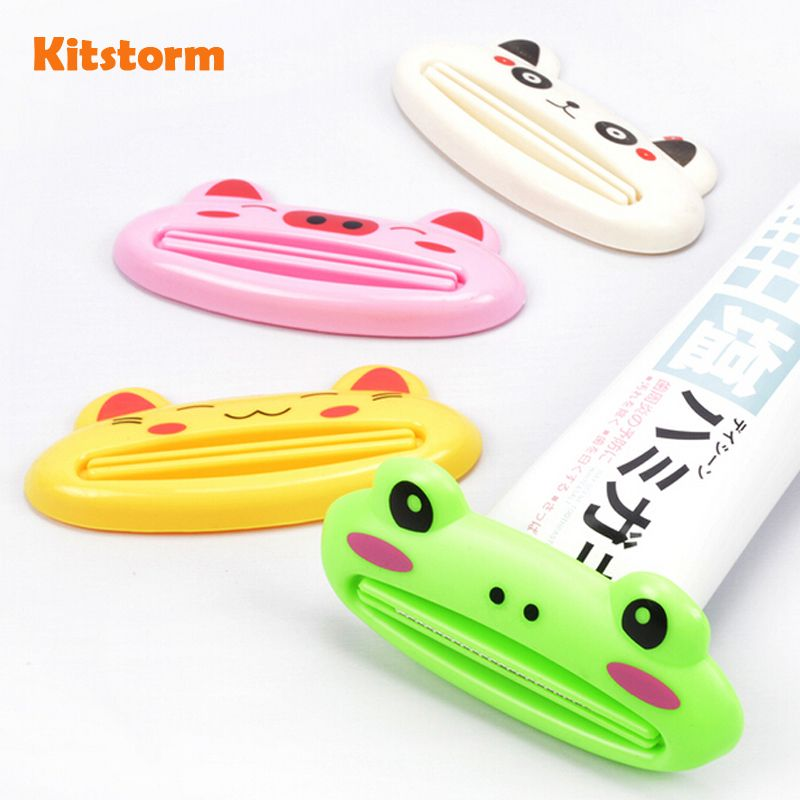 Multifunctional Toothpaste Clip Squeezer Creative Cute Cartoon