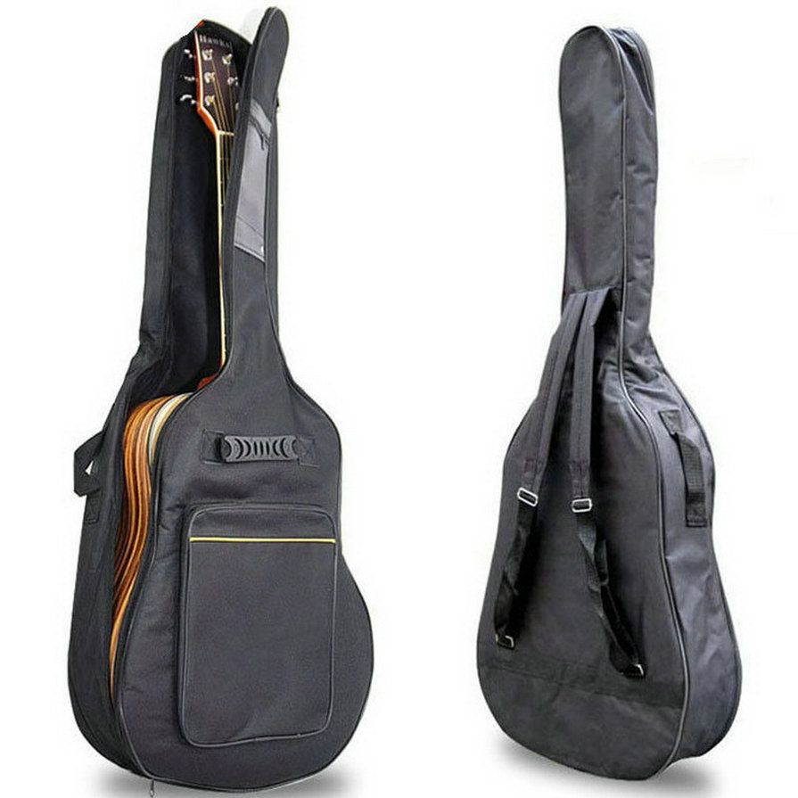Msor New Arrival 41 Acoustic Guitar Double Straps Padded Guitar Soft Case Gig Bag Backpack Free Shipping Guitar Bag Acoustic Guitar Backpack Free