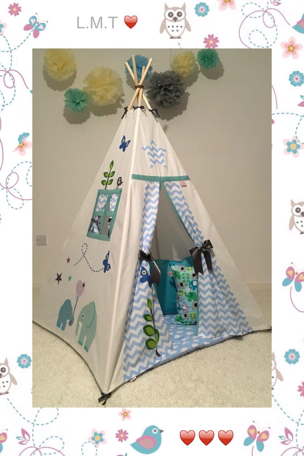 VARIOUS Children Padded Wadded Floor Play Mat Baby Toddler Tent Kids Den Teepee