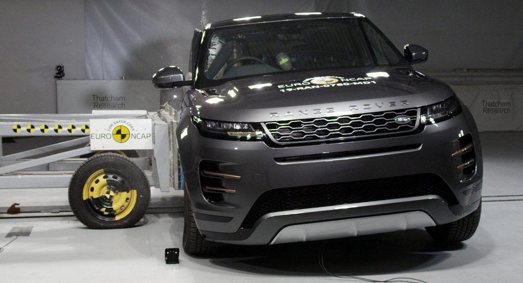 Range Rover Evoque Citroen C5 Aircross Get Top Scores In Euro Ncap