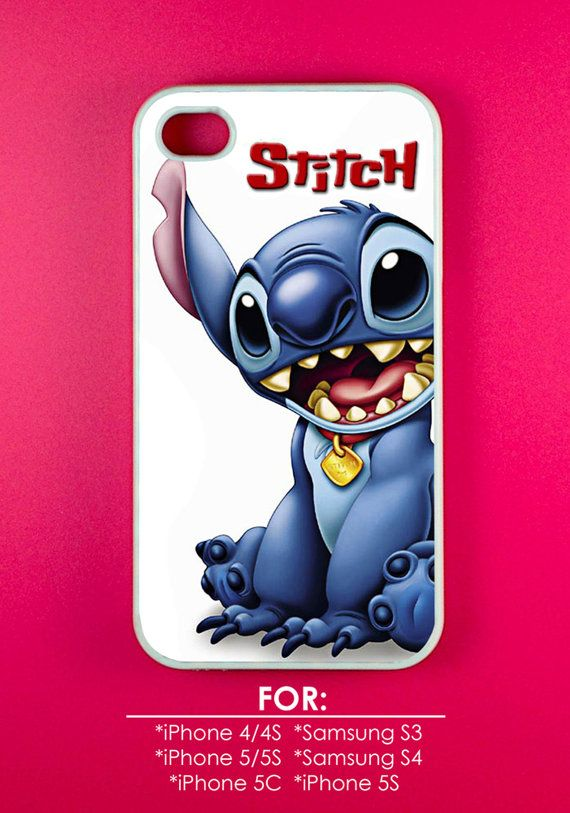 Stitch Phone Case  Lilo & Stitch Phone Case  Rubber and by BEHATIT, $14.00