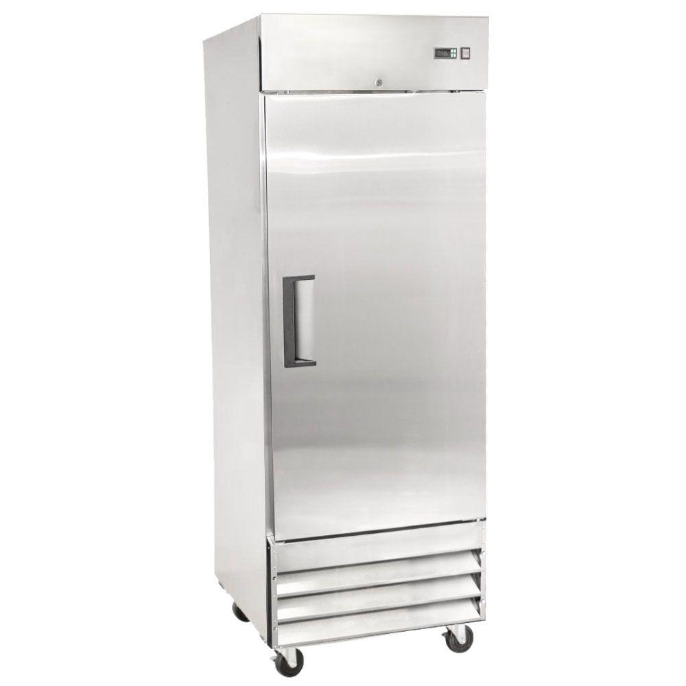 Kitchen Monkey Kmfz 1d 19 Solid Door Reach In Freezer 19 Cu Ft Solid Doors Restaurant Door Locker Storage
