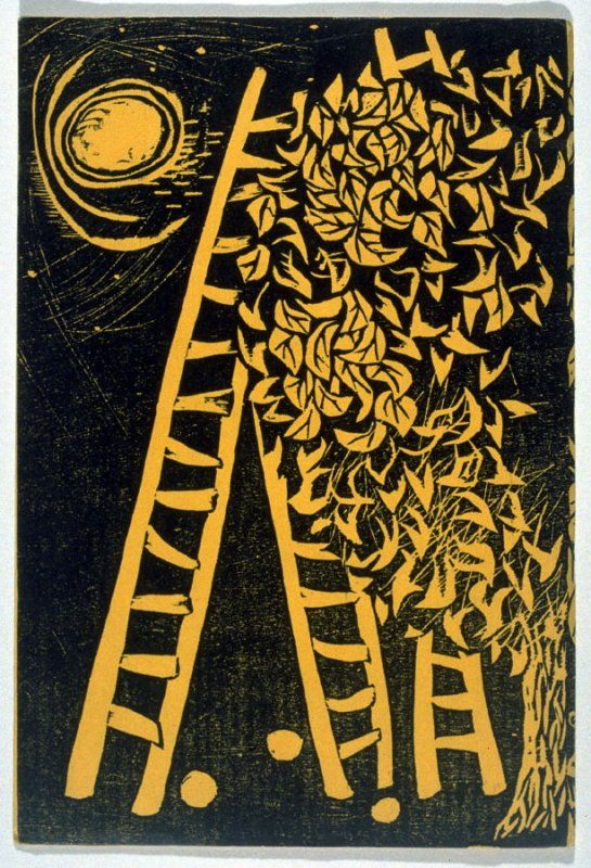 Antoino Frasconi, woodcut