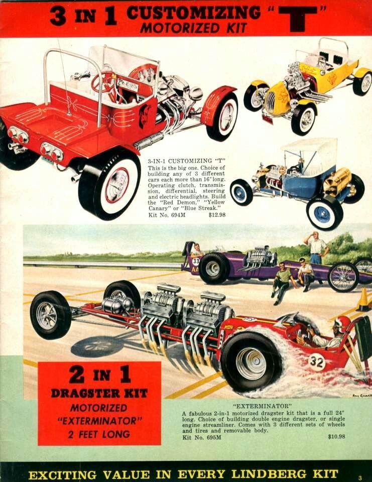 3 In 1 Customizing Motorized Kit Lindberg Plastic Model Kits Cars Plastic Model Kits Model Cars Kits