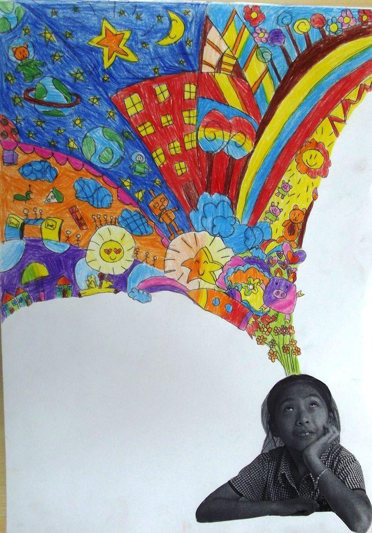Classroom Ideas Yr 6 ~ Year imagination portrait inspired by portraits on