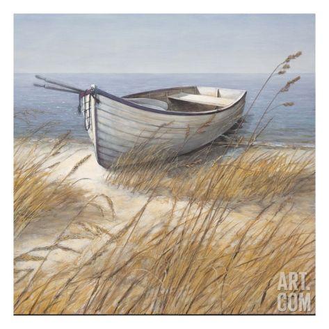 Shoreline Boat Giclee Print by Arnie Fisk at Art.com