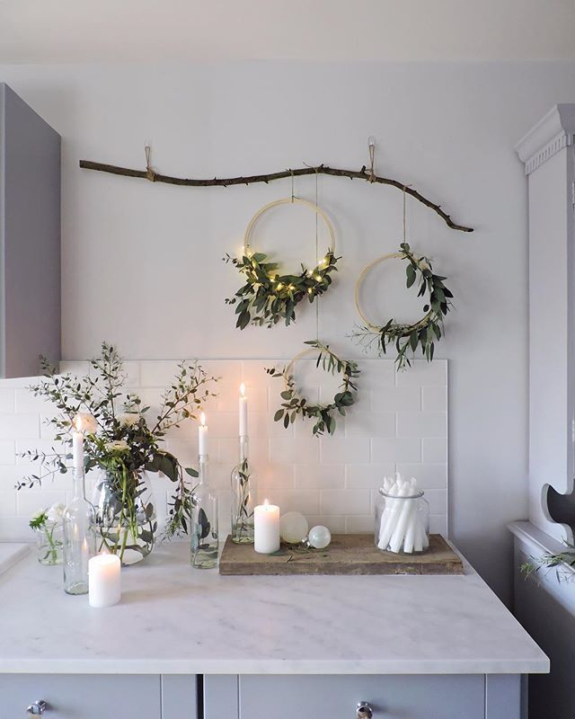 Hello little Christmas decorations ❄ We're hosting Christmas again this y... - #christmasdeko