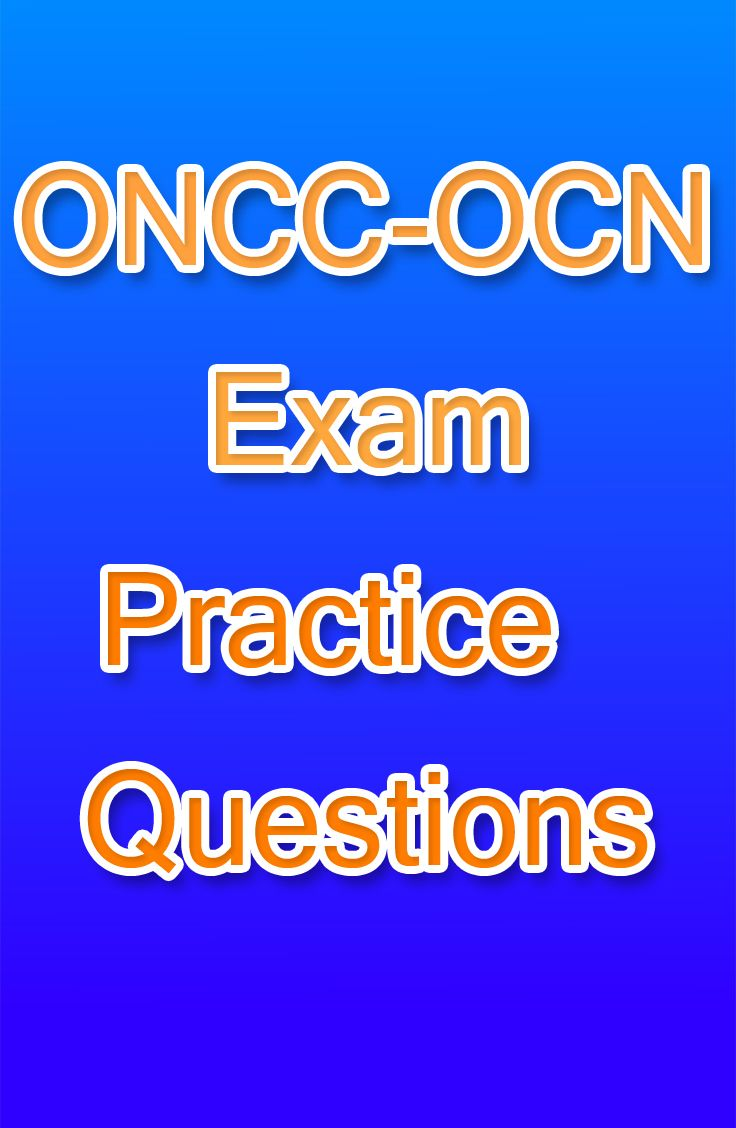 The oncc exam is for anyone that is studying to become and oncology the oncc exam is for anyone that is studying to become and oncology nurse these malvernweather Choice Image