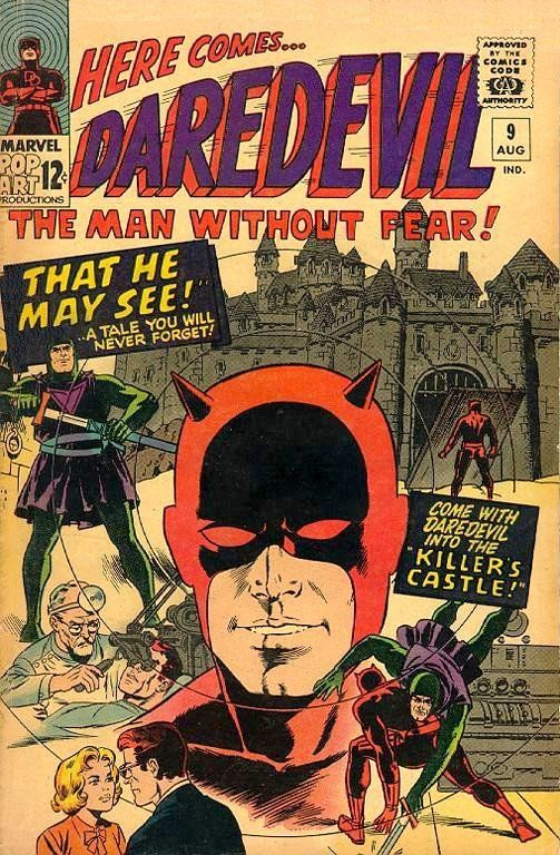 Daredevil # 9 by Wally Wood