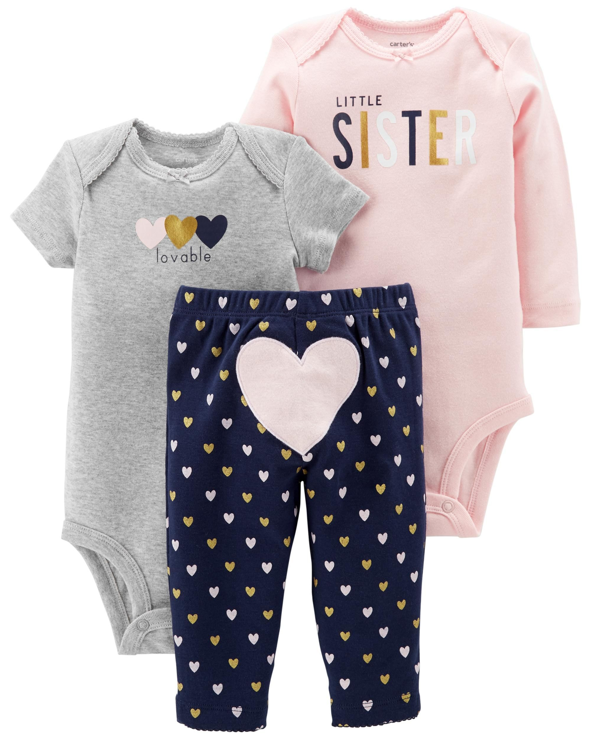 7fcb6022b 3-Piece Little Character Set | Baby boy | Carters baby clothes ...