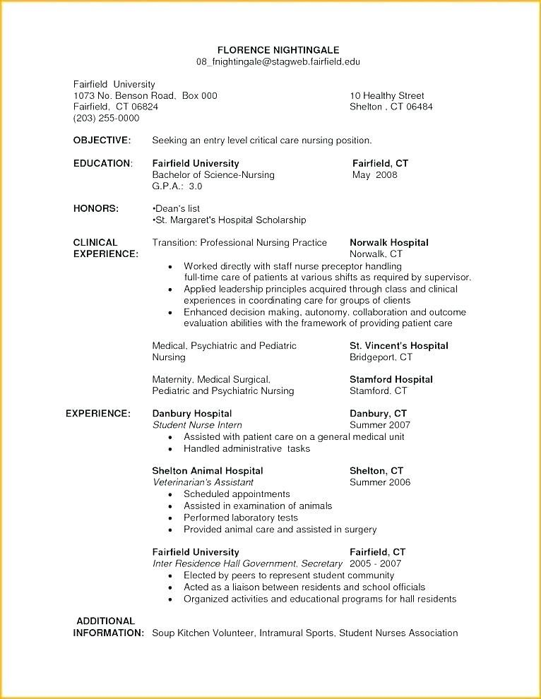 80 New Photos Of Sample Resume For Registered Nurse In Philippines