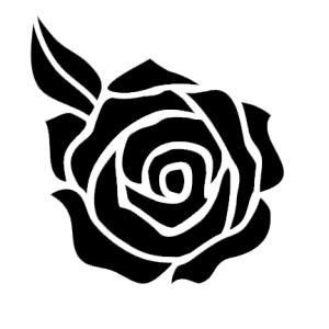 999 Flower Clipart Black And White Free Download Cloud Clipart Clipart Black And White Rose Clipart Black Rose Flower