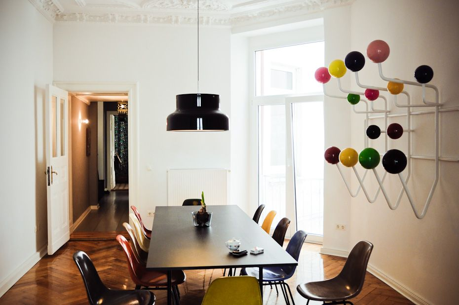 Ines Colmorgen & André Wysts Apartment in Berlin / photo by Ailine Liefeld