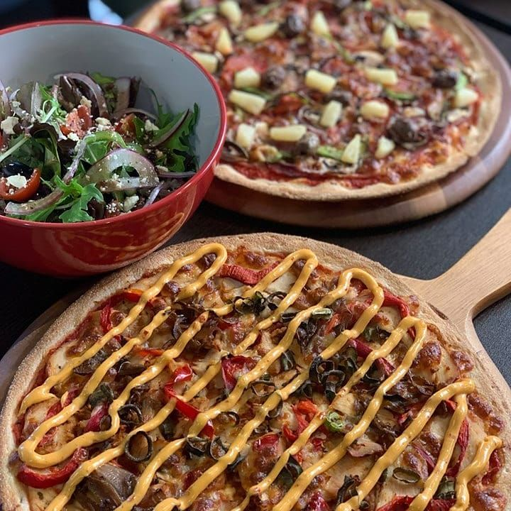 If you want a little advice from us, get both. 🍕🍕 And the salad.  Pick Up ANY Pizza EVERY MON-TUE-WED Only $16 Call or Quick, Easy Online Ordering with NEW Vegan and Gluten Free Options Now Available! www.i-love-.au 93981006 (BYO) 98822228 99722993 and 99493003 (BYO) 91239877